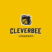 Clever Bee Original Graphic Symbol