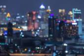 Bangkok blurred abstract background lights