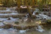 Multiple layer spring water falls
