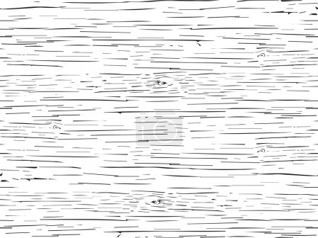 Illustration pour Textures de motif sans couture fissures de bois  . - image libre de droit