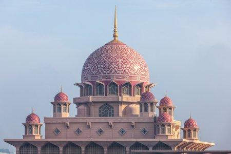 Putra Mosque Malaysia, Putrajaya.