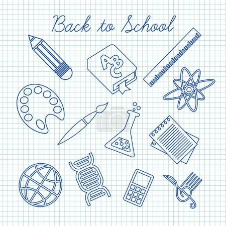 symbols for school subjects