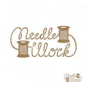 Needle work label