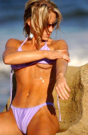 Bikini Shoot - Bikini Model Amanda Brazee