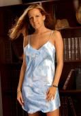 Playboy Model Jessica Barton - Blue Slip