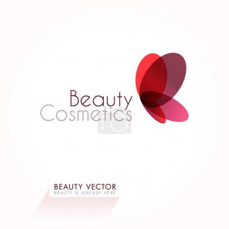 Beauty Icon & business sign template for Beauty & Fashion Industry.