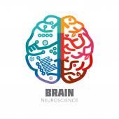Brain sign design template for Neuroscience & Medicine