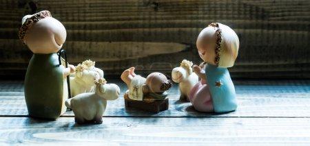 Jesus-Geburtsszene