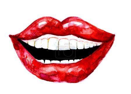 Lèvres riantes femelles