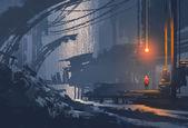 Krajinomalby podzemní město
