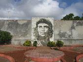 Che Guevara stone mosaic in Matanzas