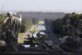 Caserta királyi palota kertjében