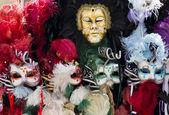 Typické benátské karnevalové masky