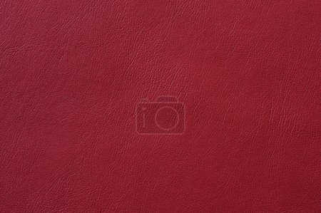 Closeup of seamless red leather texture