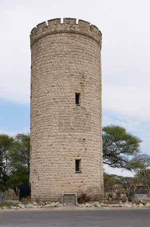 Tower in  Okaukuejo