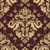 Bezešvá tapeta ve stylu baroka