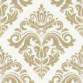 Damask Seamless Vector Pattern Orient Background