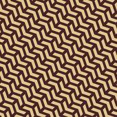 """Постер, картина, фотообои """"геометрический бесшовный векторный образец резюме с золотыми треугольниками"""""""