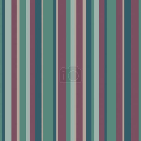 Illustration for Abstract vector wallpaper with strips. Seamless background with colorful lines - Royalty Free Image