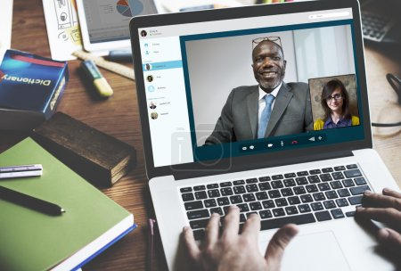 Video Call Conference Concept