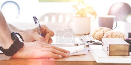 Contract Application Form concept