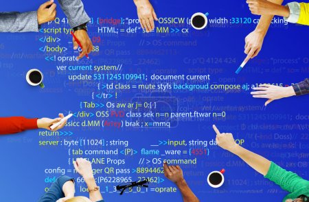 Programming and Coding Cyberspace