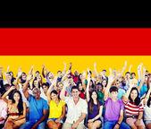 """Постер, картина, фотообои """"веселые люди разнообразия"""""""