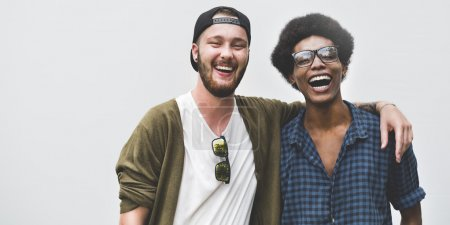 Men Friendship Happiness