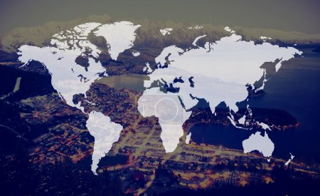Global Cartography and International Concept