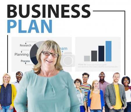 business planstrategiekonzept
