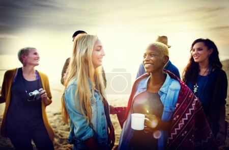 Photo for Friends Leisure at Vacation and together Fun Concept - Royalty Free Image