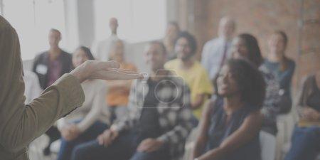 diversity people at meeting