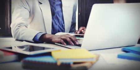 Business Corporate Focusing Concept