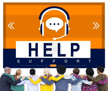 Help support Concept