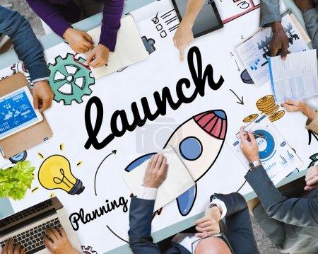 Start up, New Business Concept