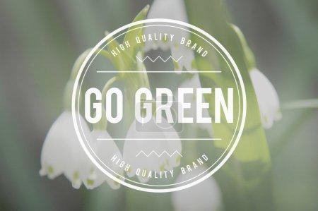 Go Green Ecology Concept