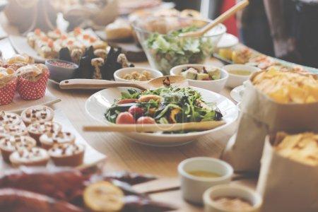 Gourmet Buffet Party
