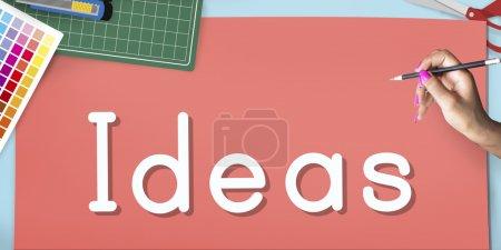 Ideas Vision Mission Concept