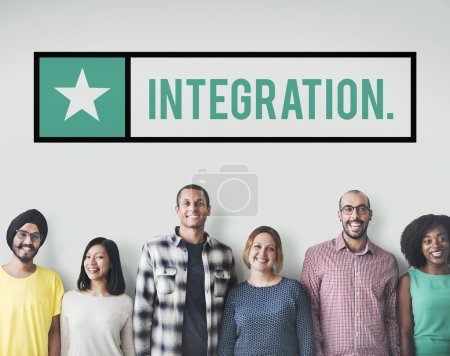 Diversity people with Integration