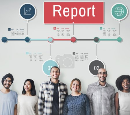 diversity people with report