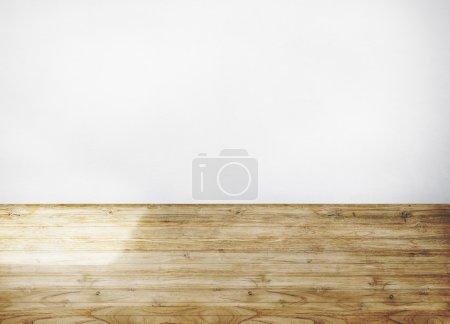 Wooden Floor Plank Concept