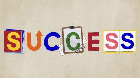 Success Progress Concept