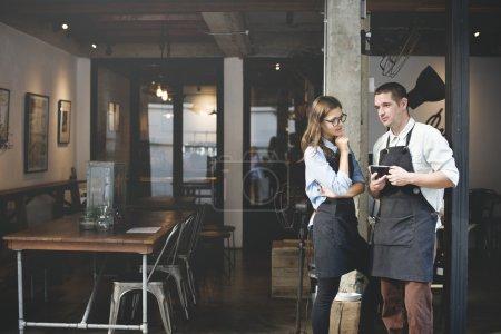 Barista Partner Working Concept
