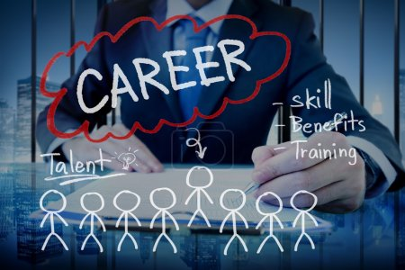 Careers, Recruitment Occupation Concept