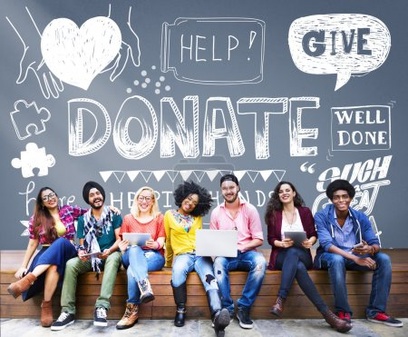 college students and donate