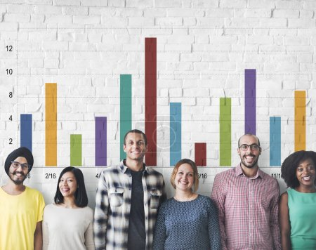 diversity people with graph