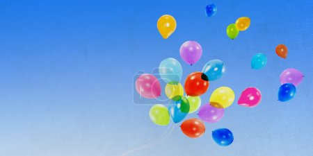 Balloons and Copy Space