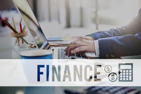 Financial Economy Concept