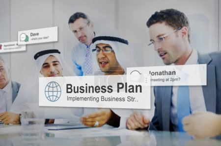 Business Plan, Strategy Concept