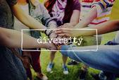 Rozmanité koncepce rozmanitost etnika